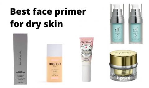 Best face primer for dry skin